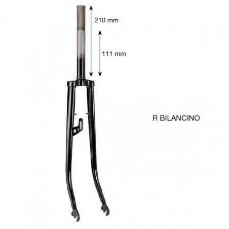 Fork R 28 painted black sling