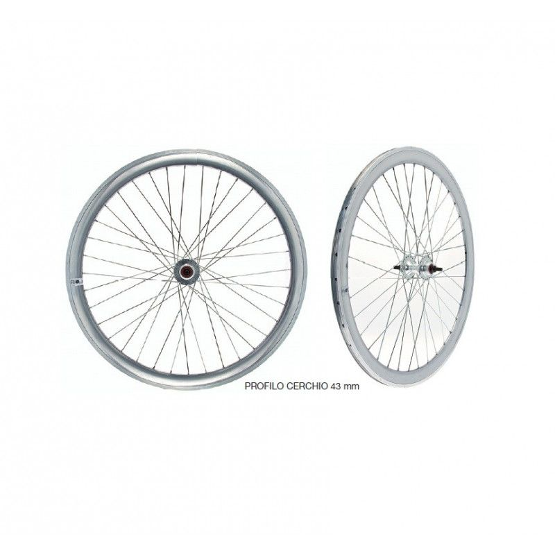 wheels fixed to fixed gear single speed bike silver mirror