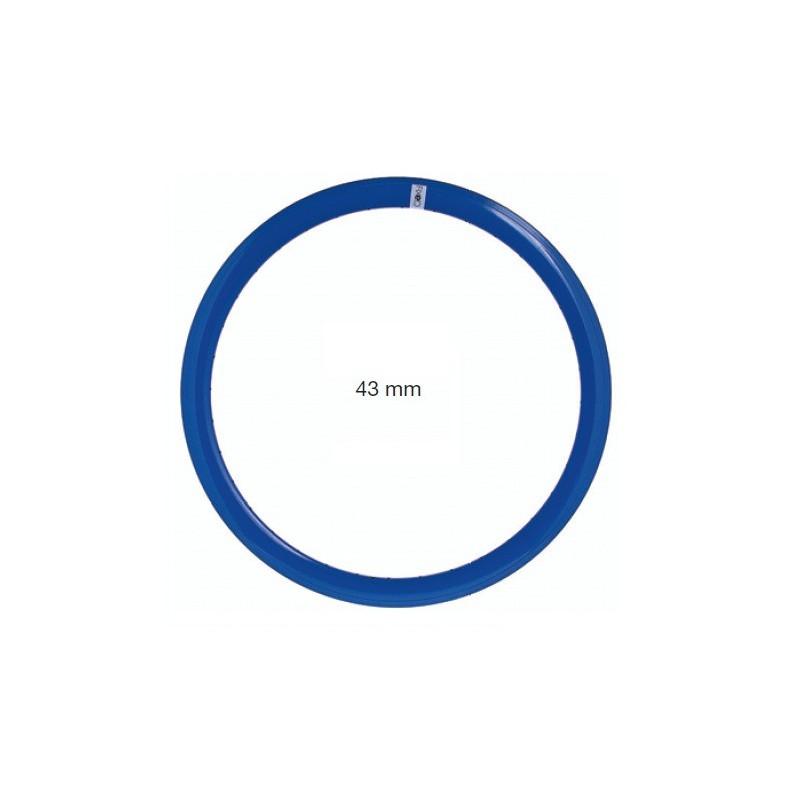 CE07BL coppia cerchio fixed per bici scatto fisso single speed bianche