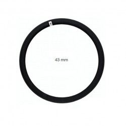 Circle in allumnio Fixed 36 holes black - 43 mm profile