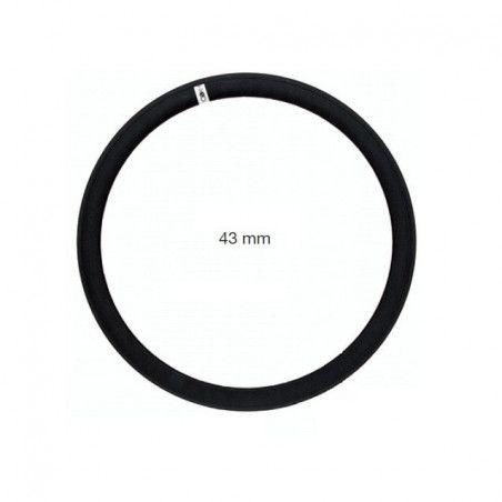 CE07N coppia cerchio fixed per bici scatto fisso single speed bianche