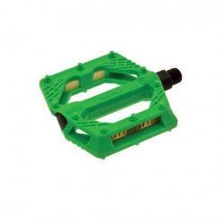 Couple of pedals Fixed / Bmx plastic pin with large 9/16? Green,