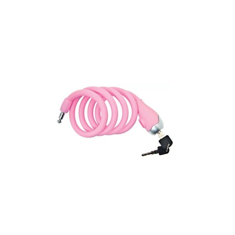 LU13p lucchetto a spirale per biciclette vendita ricambi bici antifurti colorati