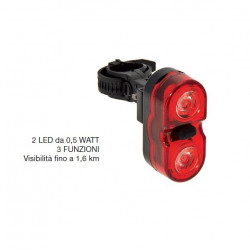 Flash 2 Super Bright LED Headlight 0.5 Watts 3 functions