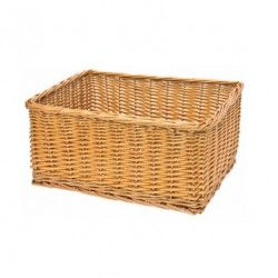 Natural wicker basket Monella