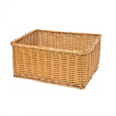 Natural wicker basket Monella