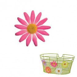 FI50P Fiore Margherita piccola rosa per ornare cesto bici accessori colorati fiori plastica decorazioni