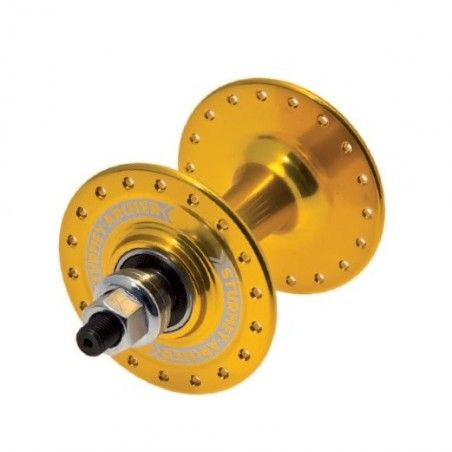 Sturmey Archer Hub Fixed aluminum front bearing yellow