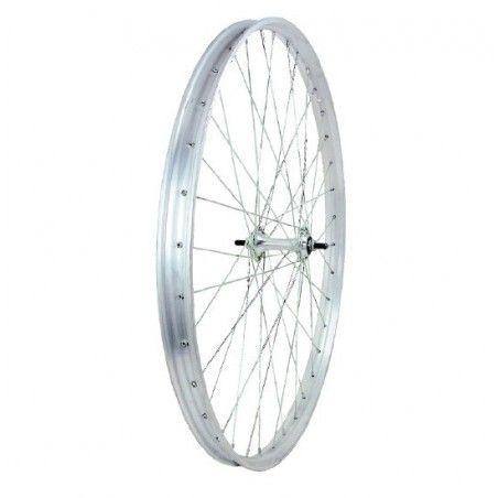 ruota completa per bicicletta R 28 Ferro cromato ricambi e accessori vendita shop on line