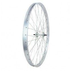 3106 ruota completa per bicicletta R 28 Ferro cromato ricambi e accessori vendita shop on line