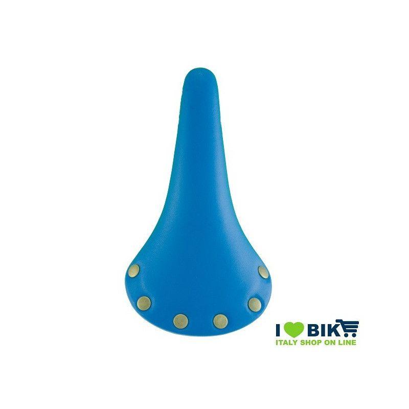 44 260 2054 sella borchie per bici scatto fisso colorata blu