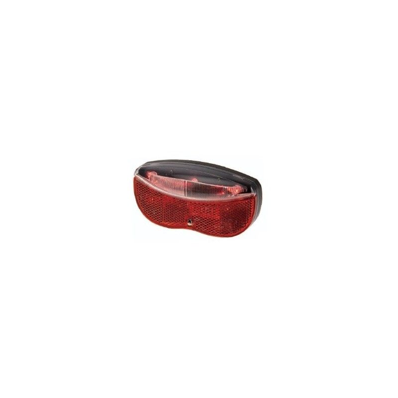 Beacon batteries to the parcel rack with 3 LED High Visibility  - 1