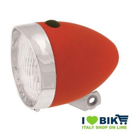 Vintage LED Headlight red