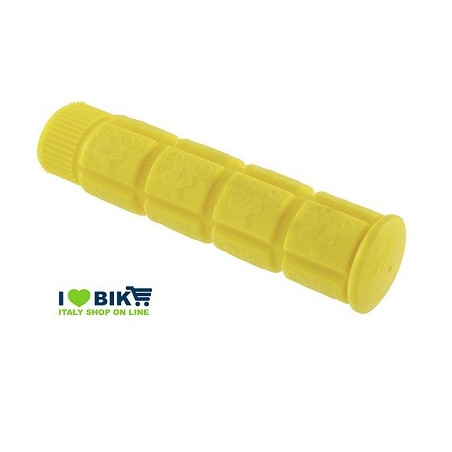 Pair knobs Fixed 120mm yellow