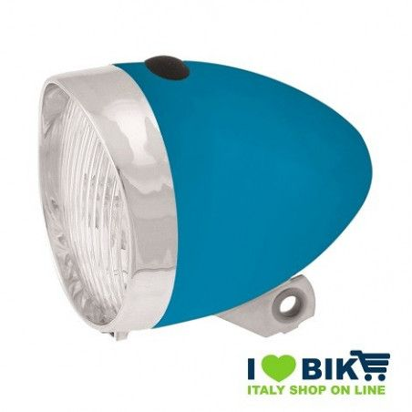 Vintage LED Headlight blue