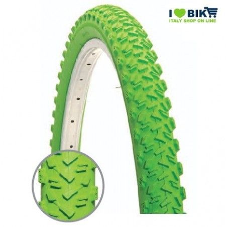 Tire MTB 26 x 1.95 green