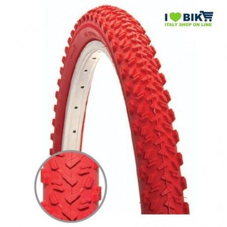 PL109R Copertura per bici MTB colorato 26 rosso coperture mountain bike colorate accessori bici su ilovebike shop on line
