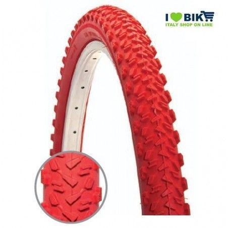 Tire MTB 26 x 1.95 red