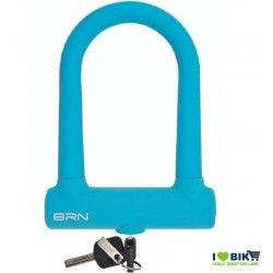 Padlock Bike Lock Fixed blue