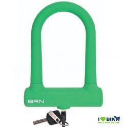 Padlock Bike Lock Fixed green