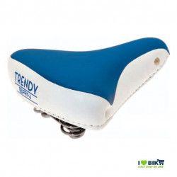 SE08B Sella blu per bicicletta colorata per bici graziella retro accessori bici e ricambi su ilovebike