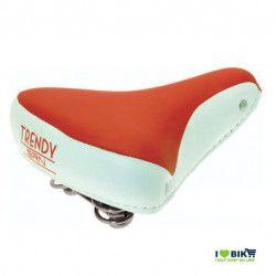 SE08R Sella rossa per bicicletta colorata per bici graziella retro accessori bici e ricambi su ilovebike