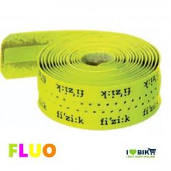 NA40G Nastro giallo fluorescente fluo manubrio per bicicletta corsa Fizik logo Yellow Fluo accessori e ricambi on line