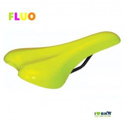 SE12FG Sella fiallo fluorescente per bici Fixed Mtb fluo scatto fisso single speed accessori e ricambi on line