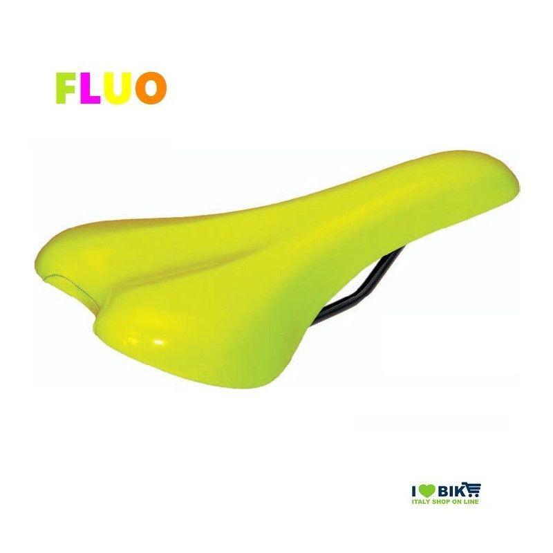 Fixed saddle Fluo yellow BRN - 1