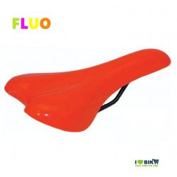 SE12FA Sella arancione fluorescente per bici Fixed Mtb fluo scatto fisso single speed accessori e ricambi on line