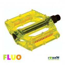 PED04FG pedale giallo fluorescente per bicicletta Fluo accessori e ricambi on line