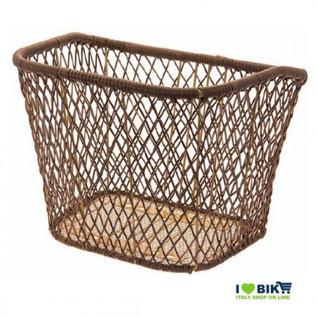 Trendy basket brown