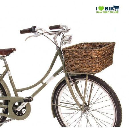 CE15R bici Cesto ovale in Hyacinth Naturale accessori e ricambi bici negozio bici on line