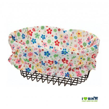CO66B Copricesto PER BICICLETTA a fiori bianchi accessori e ricambi bici negozio bici on line