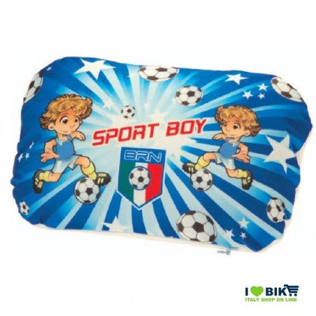 Pillow padded to the handlebar Sport Boy blue