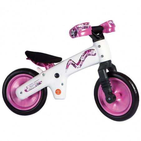 BI30R Bicicletta senza pedali B-BIP Bellelli in plastica rosa online shop