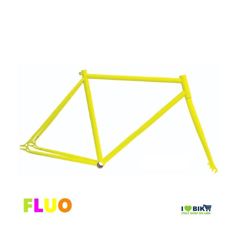 53 telaio bici fixed fluorescente giallo fluo per bicicletta accessori e ricambi on line i love bike shop1392808943530493efef0bb