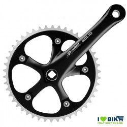45 546 65NK guarnitura solid prowheel nera per bici fixed single speed on line shop