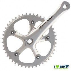 45 546 65SK guarnitura fixed solid silver per bici scatto fisso prowheel