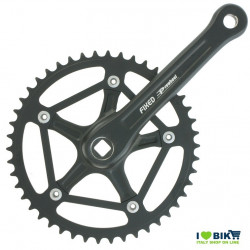 FIXED Crankset 46T X 1/8 X 170 - BLACK