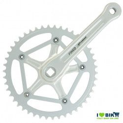 FIXED Crankset 46T X 1/8 X 170 - WHITE