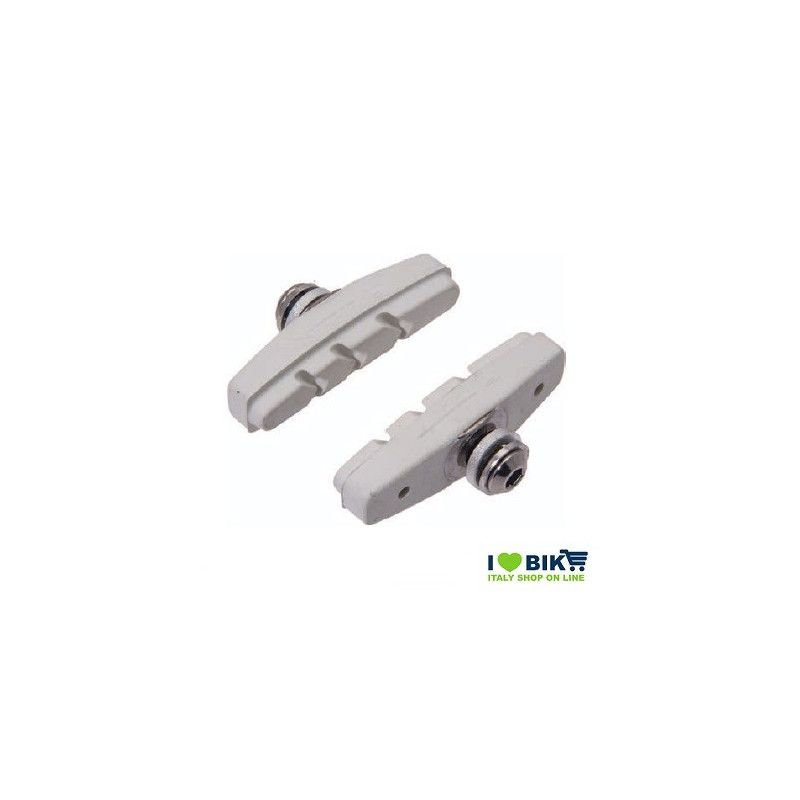 Fixed brake pads white  - 1