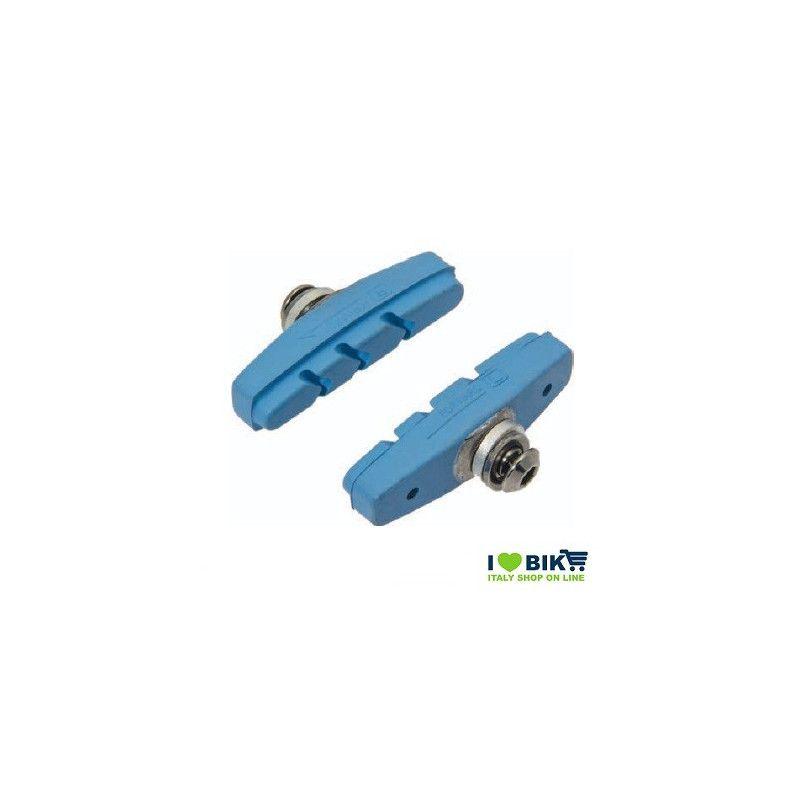 PAT60B pattini per freni bicicletta colorati blu accessori e ricambi on line bici fixed colorati su ilovebike