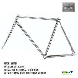TE01C XX restro telaio bici fixed cromato per bicicletta accessori e ricambi on line i love bike shop