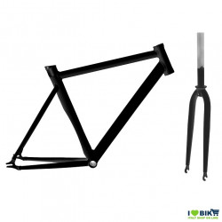 Aluminum frame FIXED BLACK