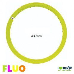 CE07FG cerchio ruote bicicletta giallo fluorescente fluo accessori e ricambi on line ilovebike