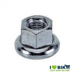 Fixed front axle nut
