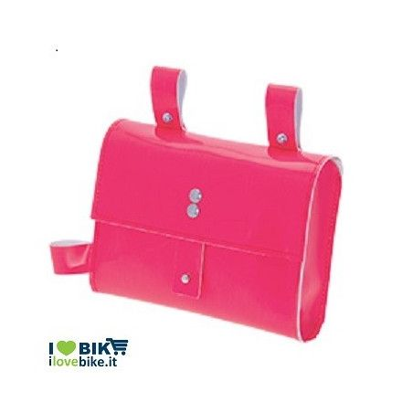 FIXED FRAME BAG IN PINK NEON