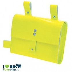 FIXED FRAME BAG IN YELLOW NEON