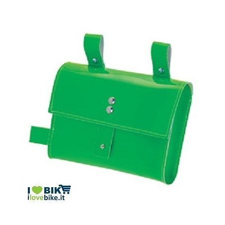 FIXED FRAME BAG IN GREEN NEON